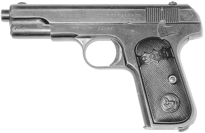 Model 1903 Hammerless, .32 Pocket Pistol (Model M)