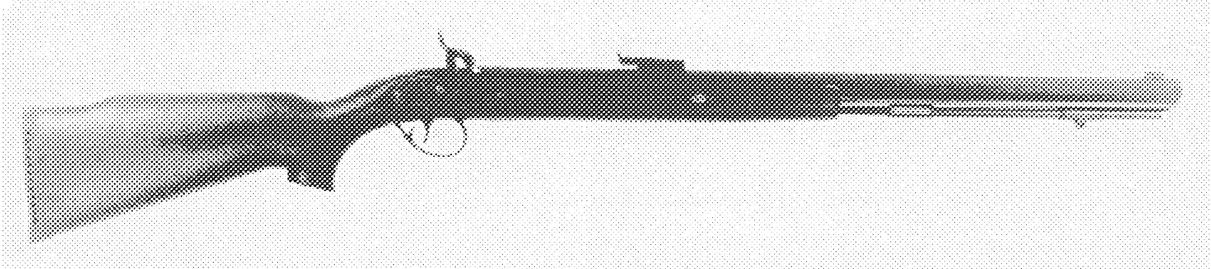 Lone Grey Wolf Rifle
