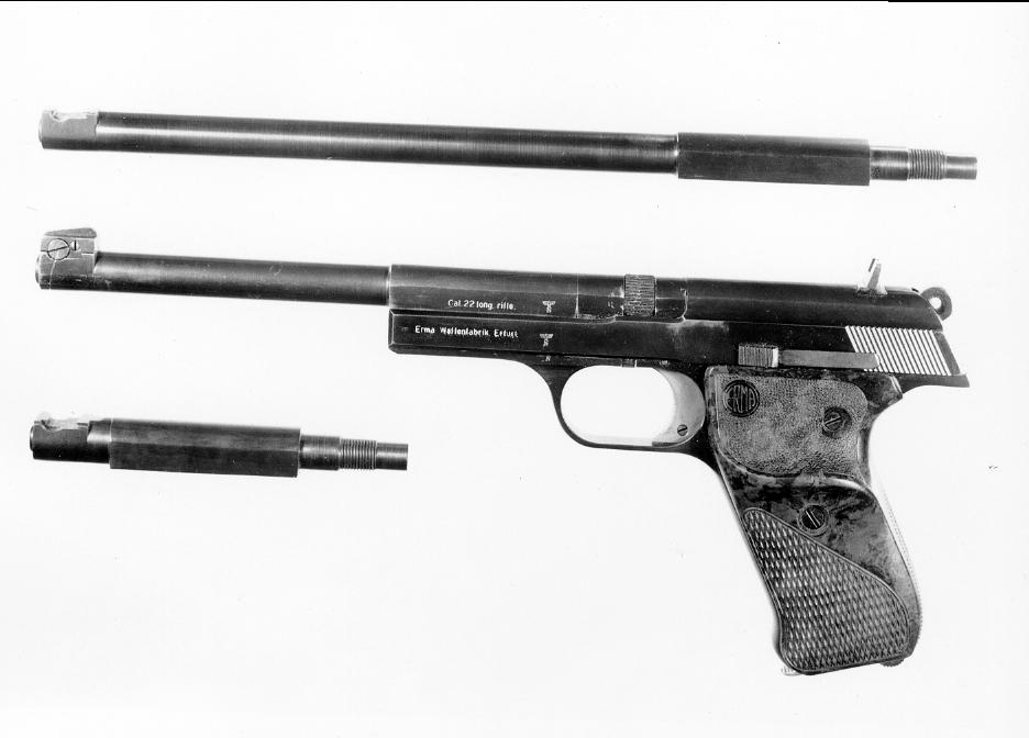 .22 Target Pistol (New Model) Master Model