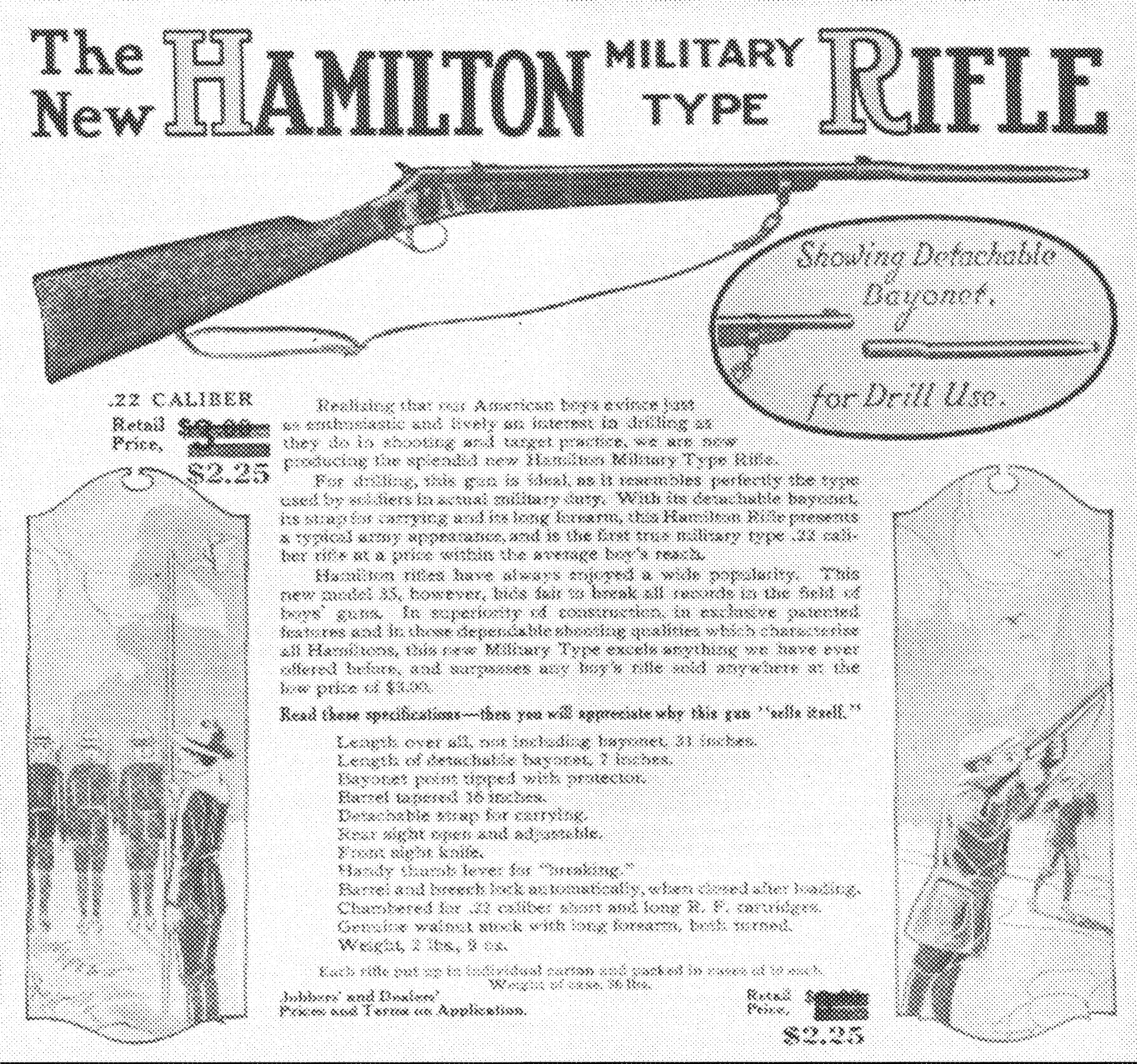 Model 35 or Boys' Military Rifle