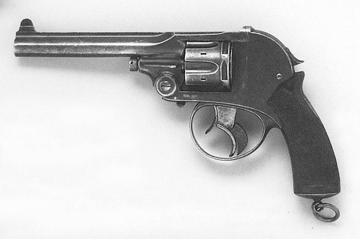 Late Double Trigger Revolver