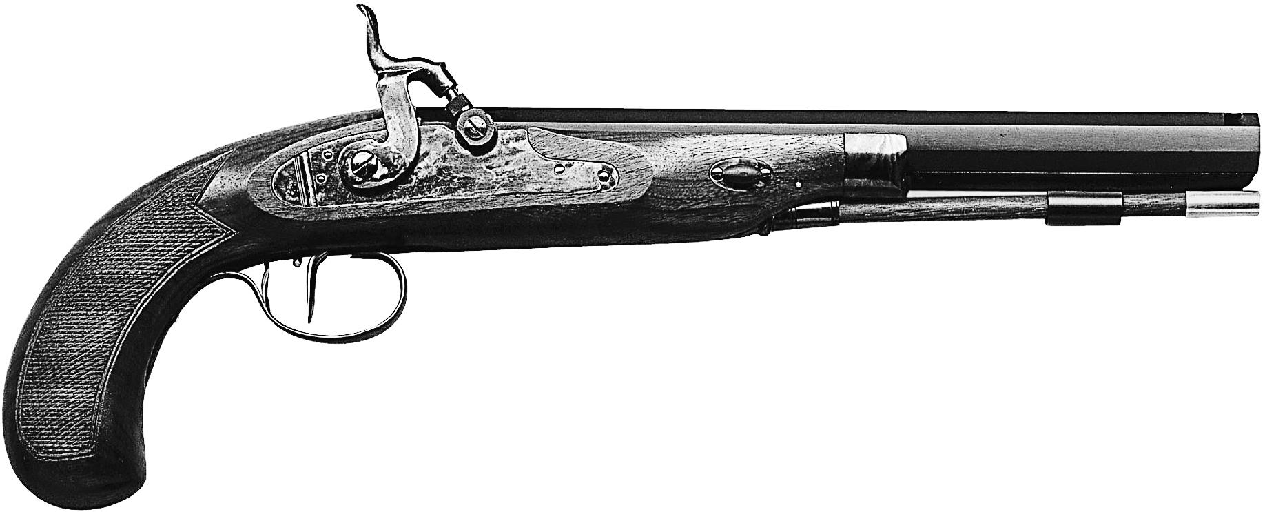 Charles Moore Dueling Pistol