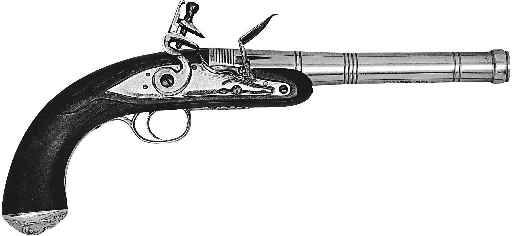 Queen Anne Pistol