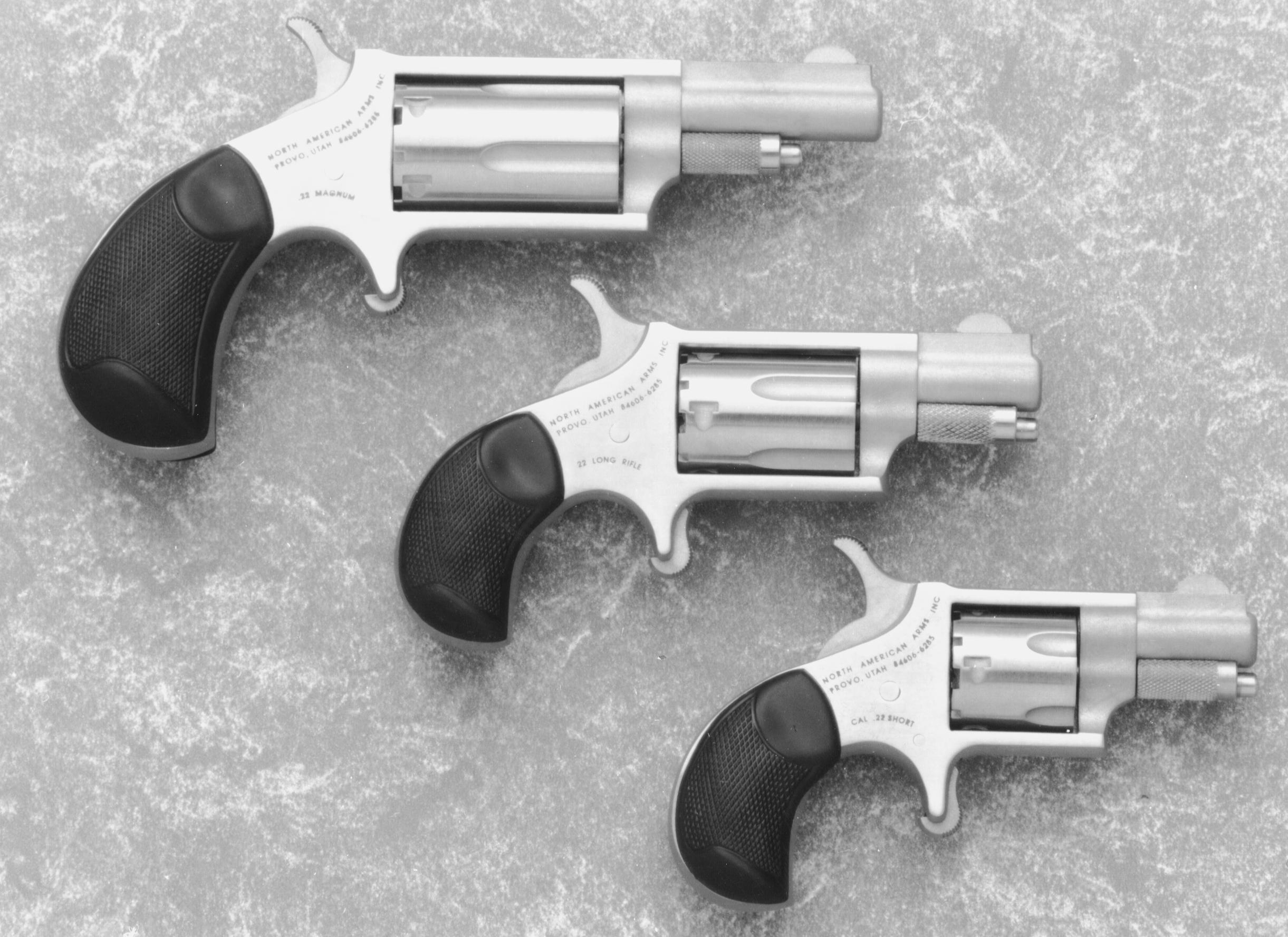 NORTH AMERICAN ARMS Mini-Revolver :: Gun Values by Gun Digest