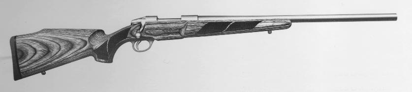 Model 75 Varmint Stainless Set Trigger
