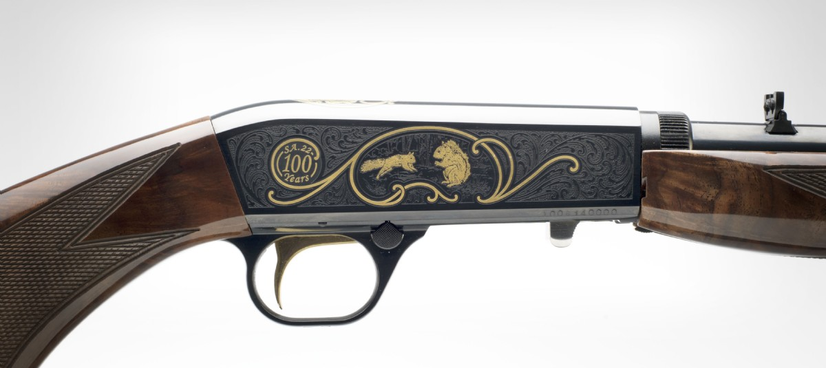 Semi-Auto .22 High Grade 100th Anniversary