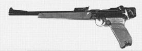 """ET-22 """"Navy Luger"""" Long-Barreled Pistol"""