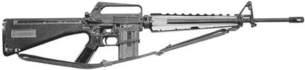 AR-15 (XM16E1)