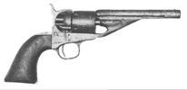 Richards-Mason Conversion 1861 Navy Revolver