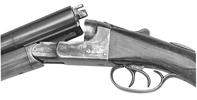 Davis Grade B.S. Hammerless Shotgun